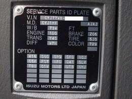 型式:PKG-CYJ77W8 車輌総重量24,970Kg