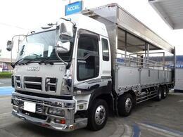 いすゞ ギガ 家畜運搬車 最大積載12.6t スムーサー12速