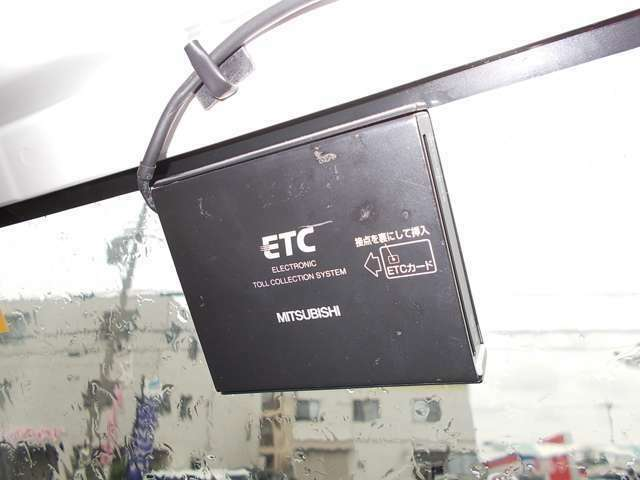 ETC車載機が付いてます!