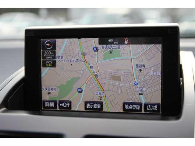 純正SDナビ☆地デジTVチューナー付!CD/DVDビデオ再生/Bluetoothオーディオ/SDスロット/ブルーレイ再生/外部入力/などなど多彩なメディアに対応可能♪