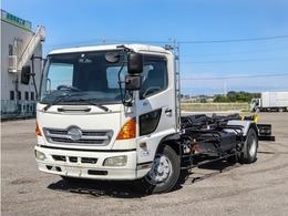 日野自動車 レンジャー アームロール ロング仕様 増トン コンテナ専用車 ツインホイスト 7.6t