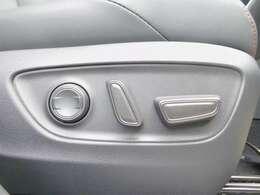 運転席は電動シートとなっております!