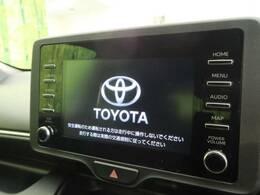 新型ディスプレイオーディオ搭載!!ナビ機能のないディスプレイがついた車載機です。自分が使っているスマホとクルマが繋がる