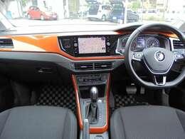 Comfortline Limitedには「DiscoverPro(Volkswagen純正ナビゲーションシステム)」特別標準装備。