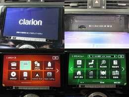 お出掛け嬉しい、Clarion製9inchナビ(フルセグ地デジTV)付です♪DVDビデオ再生機能・音楽録音機能・USB/Bluetooth接続も可能です♪