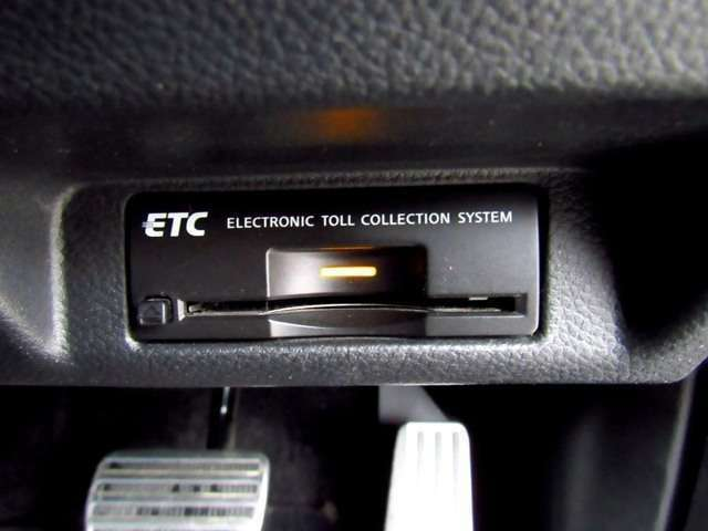 高速道路での必需品ETC付!!高速道路での料金所の心配もいりません!!