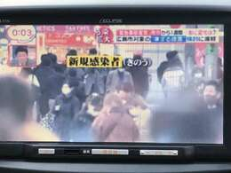 ☆地デジナビ付き☆大きな画面でTV視聴、音楽再生が可能☆当店では感染症対策を徹底しております。