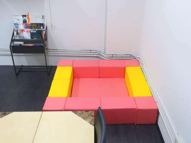 Bプラン画像:お子様と一緒に安心してご来店いただけるようキッズスペースを設けております。