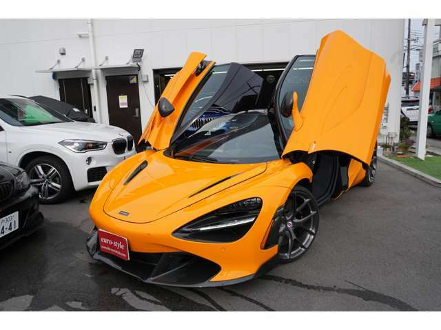 McLarenが誇るスーパーカーの1台を所有してみませんか?