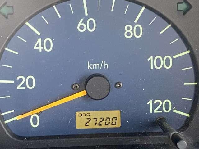 <メーター>走行距離2.8万kmです!