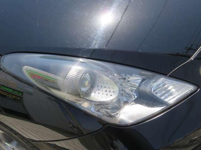 HIDライト付☆明るいライトで視認性を向上!夜間の運転にも安心の装備です!