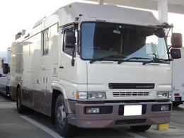 三菱ふそう スーパーグレート キャンピング車 10人乗 大型免許 8ナンバー NOx・PM適合