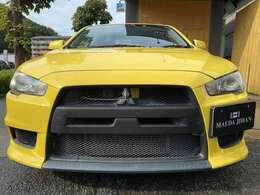 ロックフォードサウンド・イエロー・全塗装・ADVAN Racing18インチアルミホイール・HIDヘッドライト・RECAROシート・メーカーナビ♪