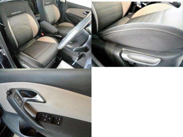 VWならではのシートはしっかりしていて長時間の運転でも疲れにくいです。又ヘタリも無く良い状態を保っております。(リフター付きで、シートの高さ調整も可能)内張も浮きや、スイッチの塗装ハゲも御座いません!