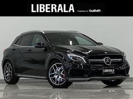 メルセデスAMG GLAクラス GLA 45 4マチック 4WD エクスクルーシブ パノラマSR RSP 黒革