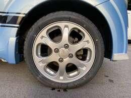 スバル純正アルミホイール。タイヤ4本新品!ミシュラングループのATR、エコノミスト装着。