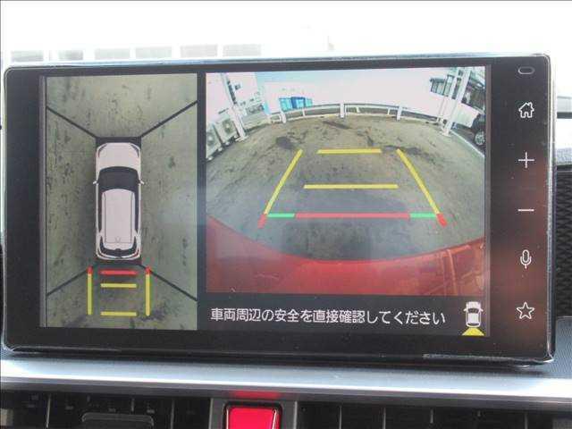 バックカメラ・全周囲カメラ装備で後方確認もラクラク。運転が苦手な方にも安心して乗っていただけます。