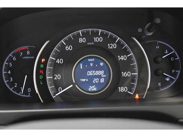 視認性に優れたメーター★運転中でもメーターの確認はラクラク◆安全運転にお役立ち♪