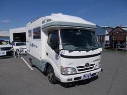 トヨタ カムロード ZIL480 3.0ディーゼルターボ 4WD 太陽光発電 シャワー ナビ バックカメラ TV
