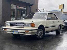 日産 グロリア ブロアムターボ ビッグバンパー フルノーマルオリジナル車