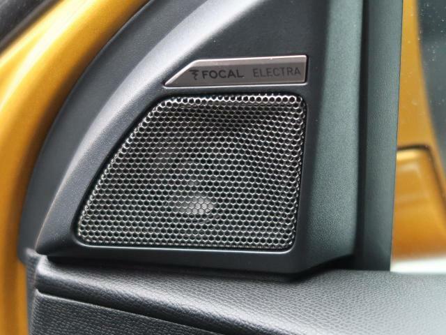 ●FOCALサウンドシステム:臨場感あふれる高音質を、車内でお楽しみいただけます。いつものドライブにまた1つエッセンスを♪