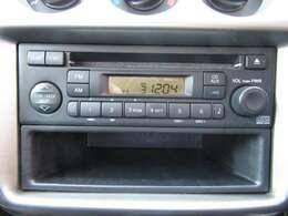 純正オーディオも装備されておりますのでお出かけの際には好きなCDを再生できます♪