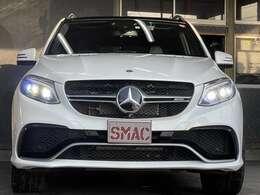 メーカー:メルセデスベンツ 車種:GLE グレード:GLE63S 走行距離:41,000km 色:ホワイト 装備品/オプション:AMG21インチAW/シートヒーター/ベンツレーション/ドライブレコーダー