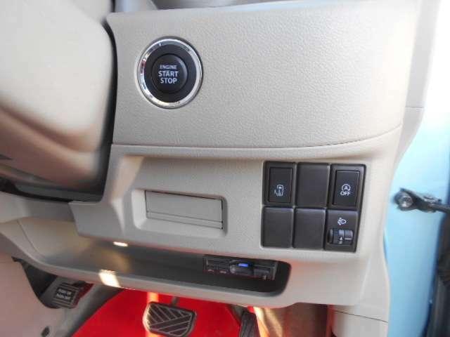 スマートキー仕様車なのでエンジンスイッチはプッシュ式です☆ETC付いています☆