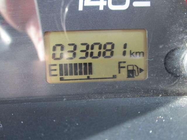 走行 33081Kmの車両です。
