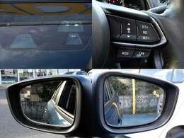 セーフティクルーズPKG(前後進時衝突軽減ブレーキ・前後進時誤発進抑制機能・レーダークルーズコントロール・リアパーキングセンサー等)とセーフティPKG(車線逸脱警告アダプティブLEDヘッドライト)付き。