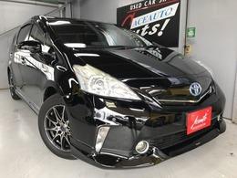 トヨタ プリウスα 1.8 G チューン ブラック モデリスタエアロ HDDナビ 2年保証