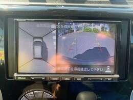 ナビ、地デジ、アラウンドビューモニター(全方位カメラ)、Bluetoothオーディオ、