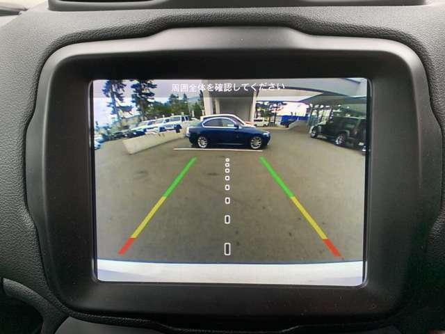 バックモニターで後方の視認性アップ!車庫入れが苦手な方に強い味方です!