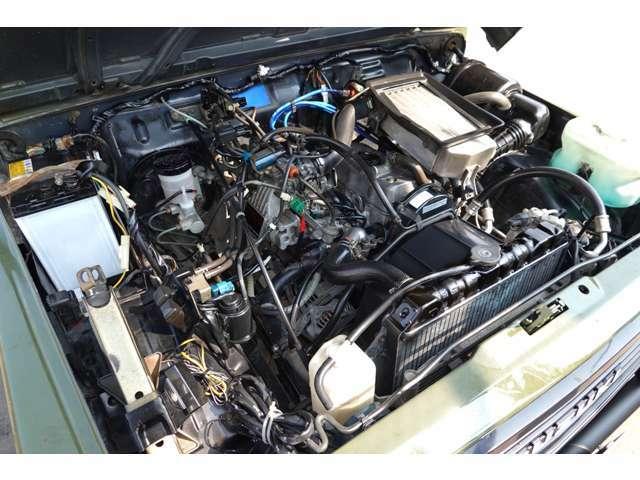 F6A型660ccターボエンジン搭載してます☆