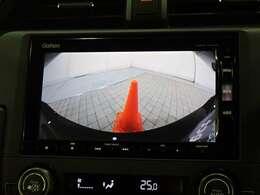 バックカメラ搭載で車庫入れもサポートいたします。