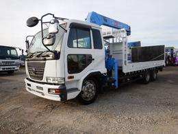 UDトラックス コンドル 増トン3軸3段ラジコンクレーン付セフティ ウィンチ付 積載9000kg