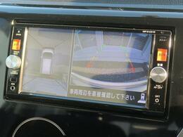 アラウンドビューモニター装備☆駐車の時も安心です☆