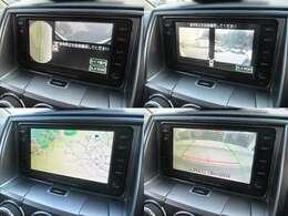 フロント+サイド+バックカメラも装備されております♪バックカメラは後方の障害物や停止位置の確認にとても便利です♪アシストラインも表示され安心です♪DVDの再生も可能です♪お車ですが居住性もございます♪