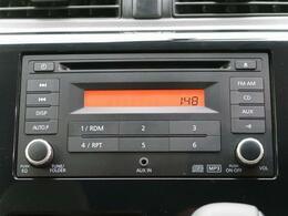 純正CDオーディオ装備☆ナビ・オーディオ取り付け・販売承ります☆お気軽にスタッフまで♪