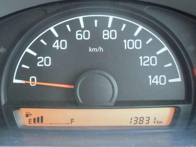 メーターの画像です。走行14000kmです!