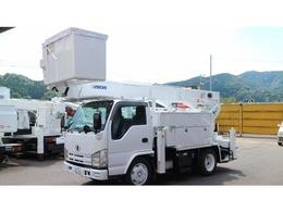 UDトラックス コンドル アイチ高所作業車U594(SH15B)サブエンジン