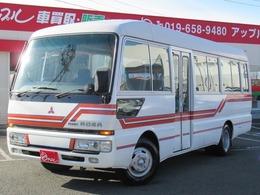 三菱ふそう ローザ バス DX ハイルーフ 左側自動ドア リアクーラー&ヒーター ETC