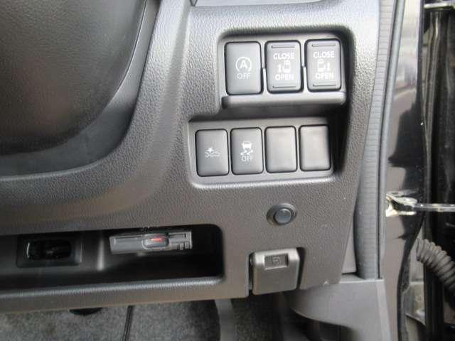 インテリキーでの操作も可能な両側オートスライドドア装備です。高速道路必須アイテムのETCも装着済み