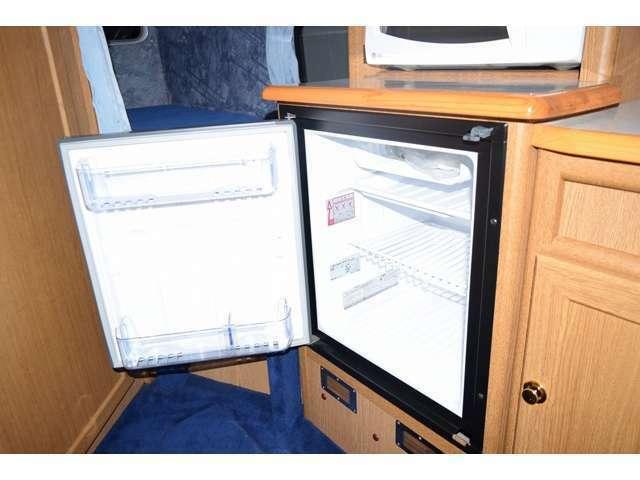 DC式エンゲル製55L冷蔵庫付になります!