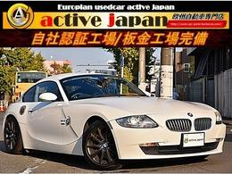 BMW Z4クーペ 3.0si ユーザー買取車両 パドルシフトモード