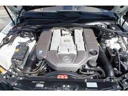 最大出力500ps トルク71.4kg.mのV8スーパーチャージドエンジンを搭載