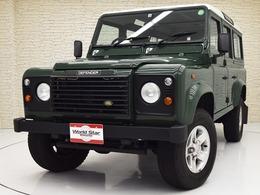 ランドローバー ディフェンダー 110SW ディーゼルターボ 4WD ワンオーナー/記録簿付/16インチAW/禁煙車