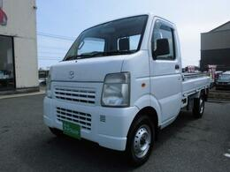 マツダ スクラムトラック 660 KC スペシャル 3方開 4WD エアコンパワステ走行68000K