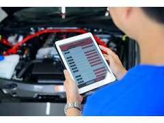 販売車両は故障診断機にて最大237システムを診断し、安心してお乗り頂ける車両を厳選しております!