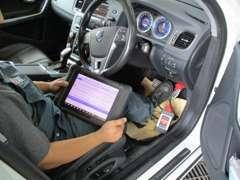 輸入車対応の故障診断機を完備。国産車も輸入車もお任せ下さい!